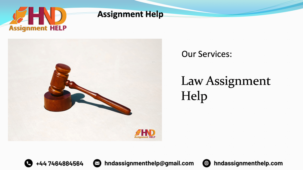 Law Dissertation Help
