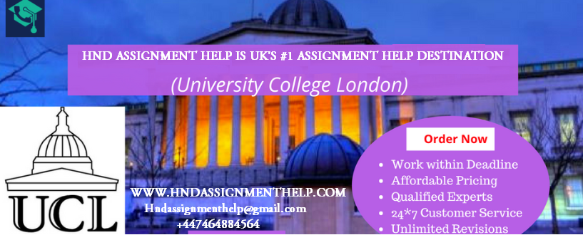 UCL Assignment Help